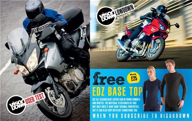 Visordown magazine - Issue 10 - what's inside