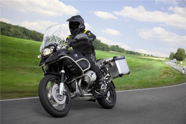 Free BMW panniers for new 1200GS owners