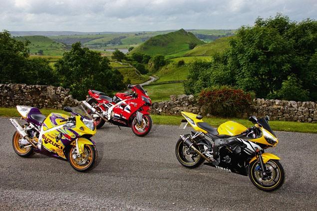 600s still got it - Suzuki GSX-R600, Yamaha R6 and Kawasaki ZX-6R used test