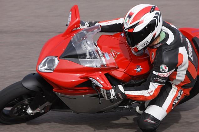 2010 MV Agusta F4 1000 Mallory Park track test