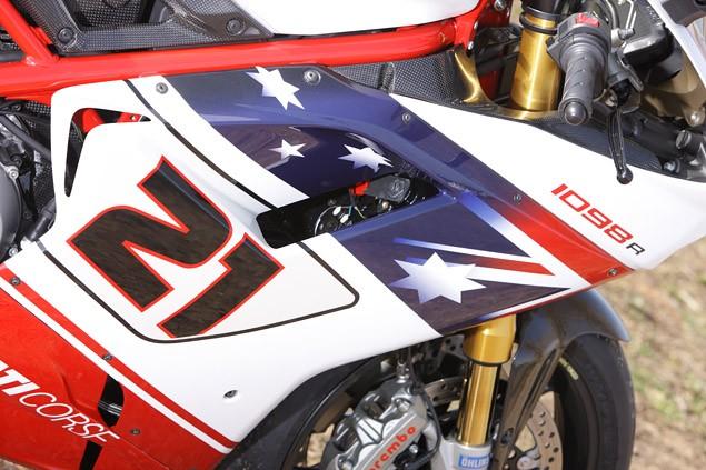 Ducati 1098 Bayliss Mallory Park track test