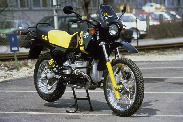 The evolution of the BMW GS gallery