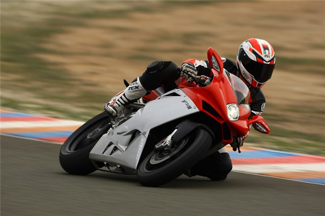 First Ride: 2010 MV Agusta F4 1000R launch test review