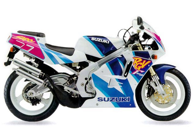 Top 10 sports bikes from the '90s