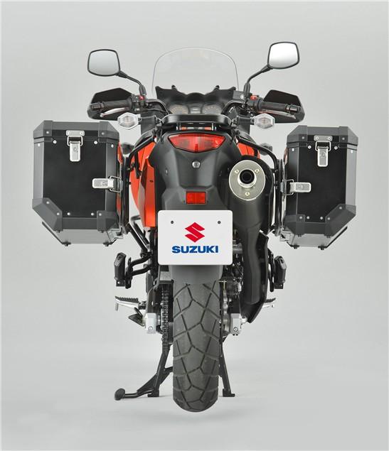 Suzuki launch V-Strom 650XP Expedition