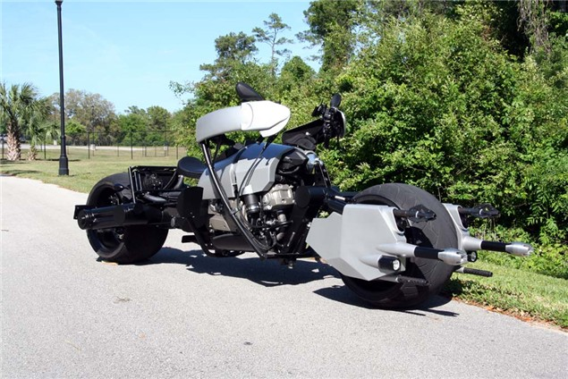 Street-legal Batpod hits the road