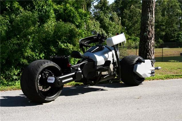 Street-legal Batpod hits the road