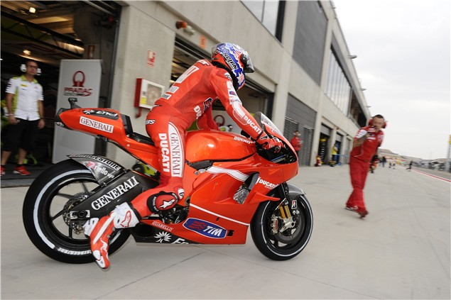 Stoner praises radical changes to Ducati GP10