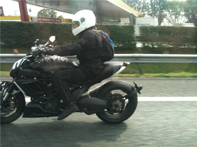 Spy shots: Ducati Diavel muscle cruiser