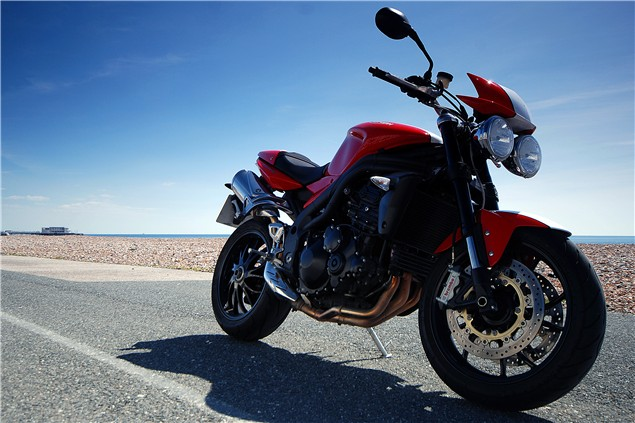 Revamped Triumph Speed Triple for 2011