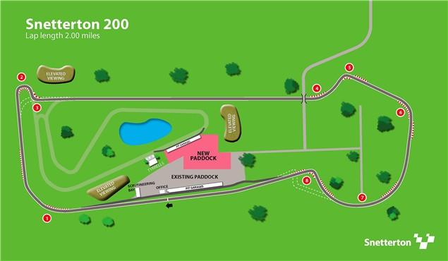 Snetterton race circuit to undergo major redevelopment