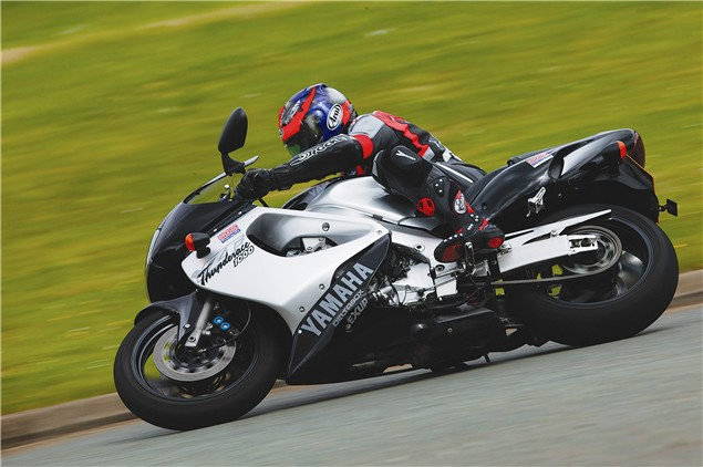 Niall's Spin: YZF1000R Thunderace