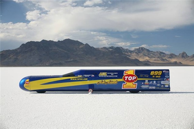 Ack Attack sets 376mph unofficial record