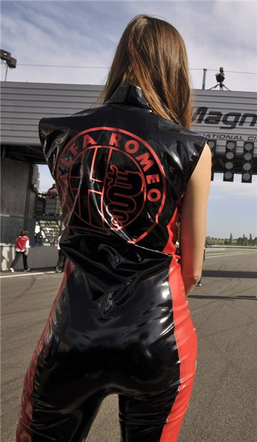 WSB Grid Girl Gallery - Magny-Cours 2010