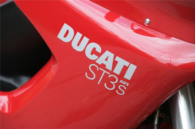 Niall's Spin: Ducati ST3