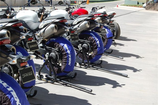2011 Triumph Speed Triple launch