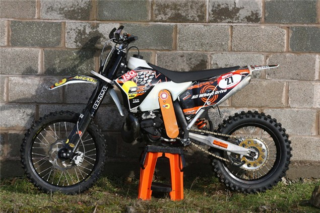 2WD off-road weapon: Christini KTM EXC300