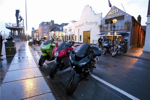 Pounding your meet - Biker Meets