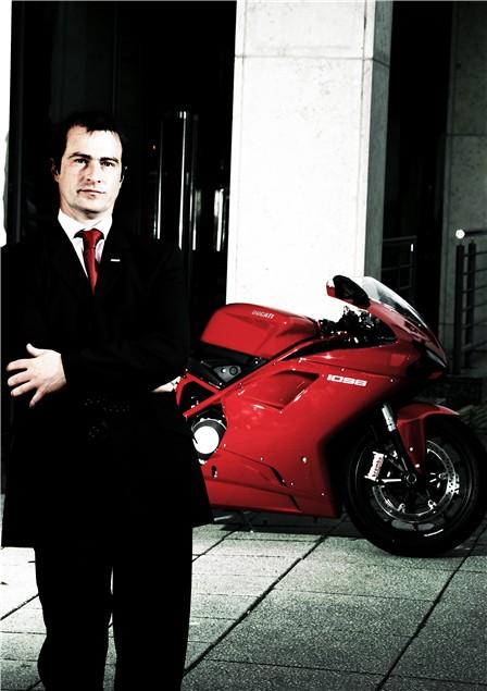 The Professionals: Tim Maccabee - Ducati UK Managing Director