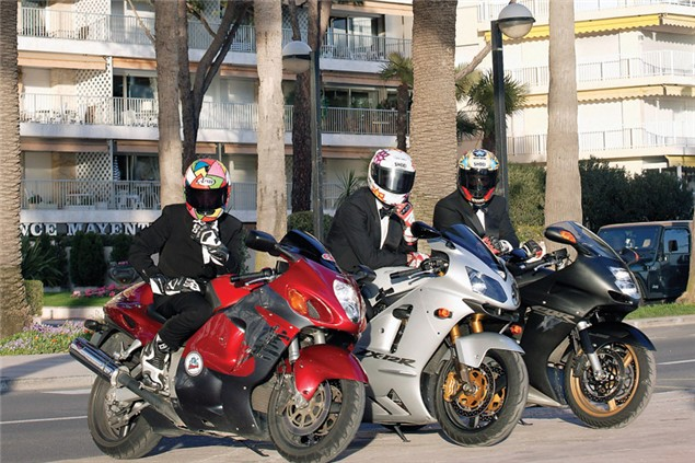 To Cannes on a Hayabusa, Blackbird & ZX-12R