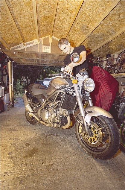 Living with a 2001 Cagiva Raptor