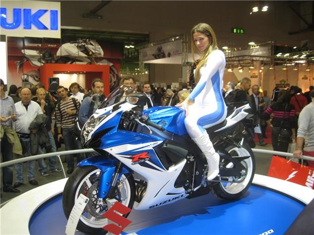 Milan Show: Suzuki GSX-R600 latest