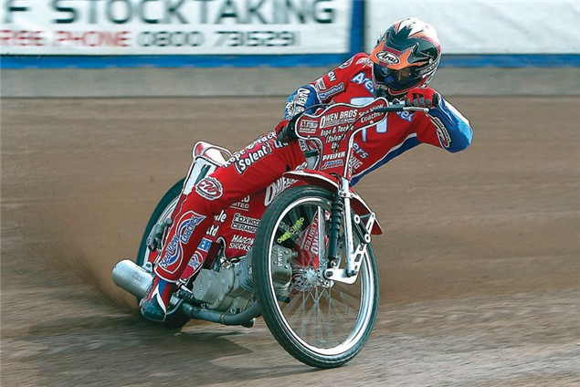 How to control a speedway bike by Mark Loram