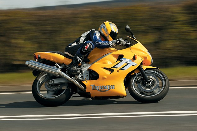 First Ride: 2002 Triumph TT600