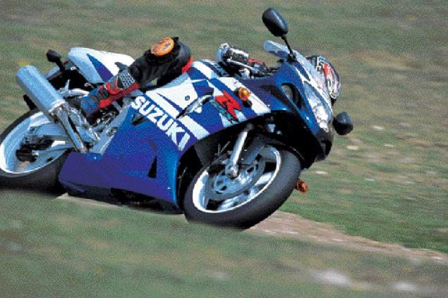 First Ride: 2002 Suzuki GSX-R600