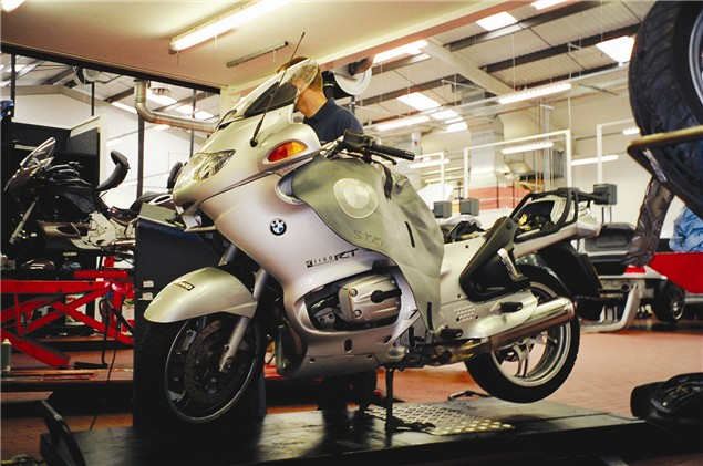 Living with a 2003 BMW R1150RT