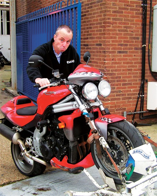 Living with a 2004 Triumph Speed Triple