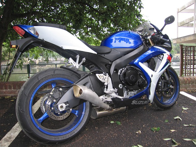 Living with a 2006 Suzuki GSX-R600 K6