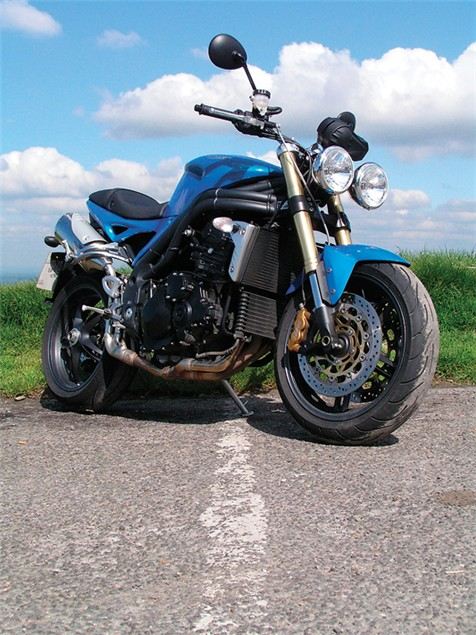 Living with a 2005 Triumph Speed Triple
