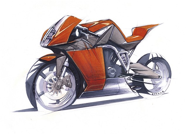 The Designer of the KTM RC8: Gerald Kiska