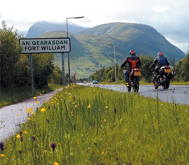 Scotland the Brave: Mackenzie V Four bikes V Scottish roads