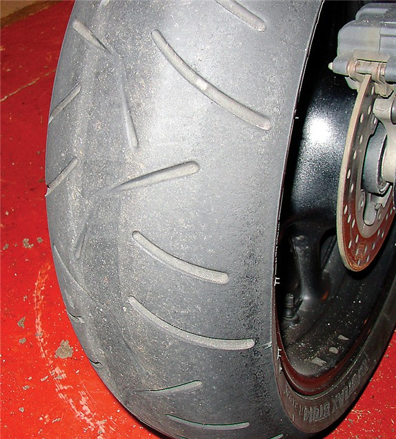 D.I.Y: Tyre Change