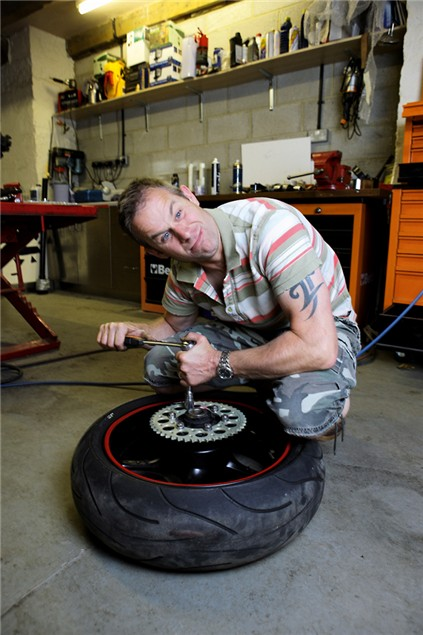 Replacing your chain & sprockets
