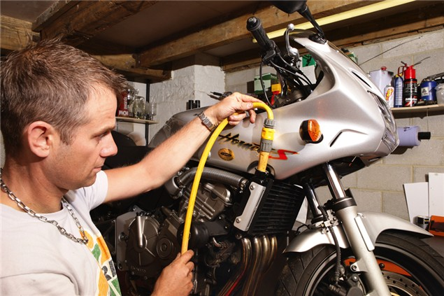 Replace the radiator coolant
