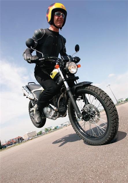 First Ride: Yamaha Tricker