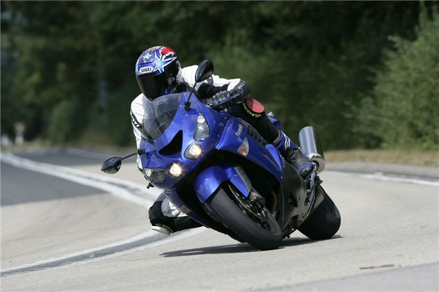 Living with excess: 2006 Kawasaki ZZR1400