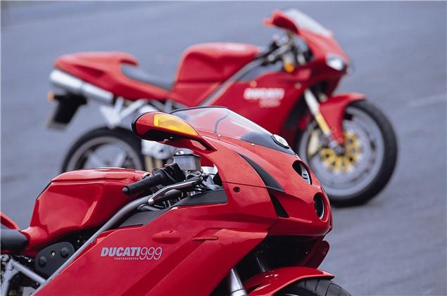 Road Test: Ducati 999 vs. 998