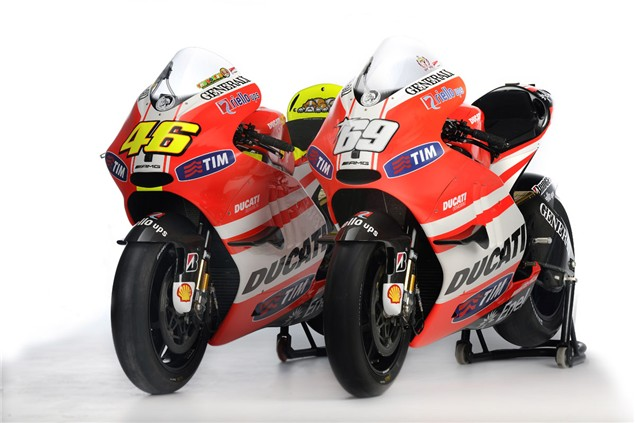 Changes detailed for Ducati Desmosedici GP11