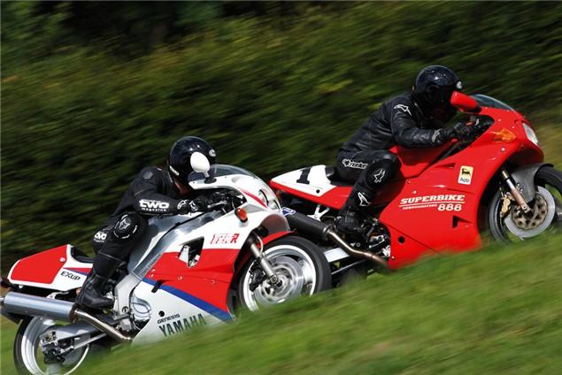Class of '93: Ducati 888 SP5 vs Yamaha OW01