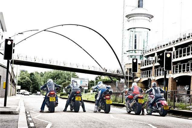 Traffic Light GP - motorcycle launch control