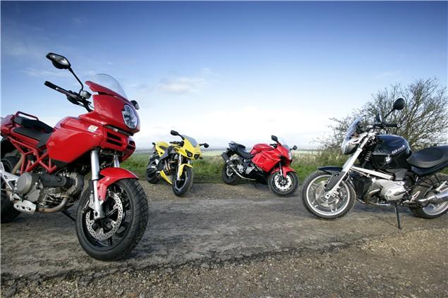 Alternative Twins: Multistrada, R1200R, XB12R and GT650R