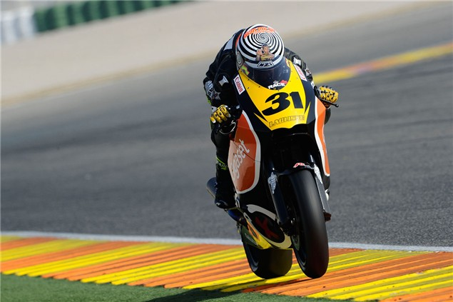 Redding closes Moto2 test joint quickest
