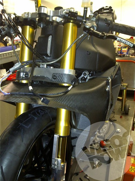 Erik Buell Racing 1190RS coming together