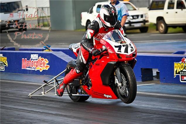 Ducati 749R Turbo. 214bhp.