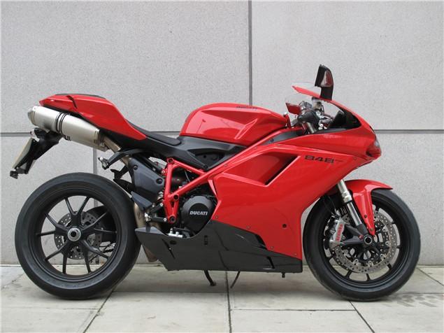 First Ride Ducati 848 Evo Review Visordown