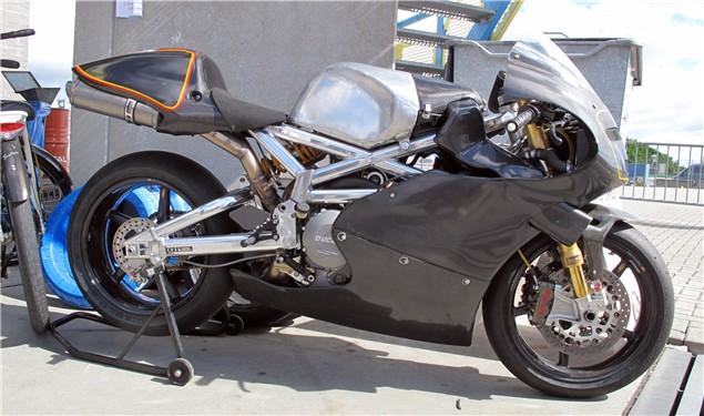 Ducati Club Races Assen: The Wacky